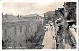 AP646 MACOMER - NUORO - FP VIAGGIATA 29.7.1936 FOTOGRAFICA - ANIMATA - Nuoro