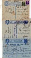 ITALIA   Posta Militare Lotto Di 3   Cartoline  P. M    100° + 181° + 201° - 1900-44 Vittorio Emanuele III