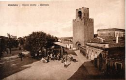 AP651 ORISTANO - MERCATO - FP NV EPOCA 1910 BELLA!! - Oristano