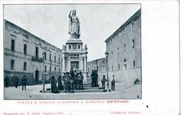 AP653 ORISTANO  - FP VIAGGIATA 28.6.1904 BELLA!! ANIMATA - Oristano