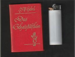 Sehr Kleines Buch J P HEBEL DAS SCHATZKASTLEIN   : Année ?  édit : FREIBURG   ( Poids 60  Gr Très Trés Bon état ) - Livres, BD, Revues