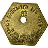 Monnaie, France, Boulangerie Coopérative Des Chemins De Fer, Bergerac, 2 Kilos - Monétaires / De Nécessité