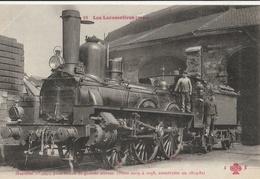 LOCOMOTIVE Française - ( Etat ) Machine N°  2042 Pour Trains à Grande Vitesse - Trains
