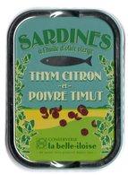Puxisardinophilie - Boite à Sardines (vide)  Huile D'olive Thym Citron Et Poivre Timut - La Belle-iloise - Autres Collections