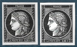 Cérès 0.20 + 0.88 - 170 Ans Du Premier Timbre Poste Français (2019) Neuf** - France