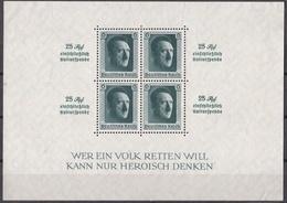 Go_ Deutsches Reich -  Mi.Nr. Block 9  - Ungebraucht NH - Blocks & Kleinbögen