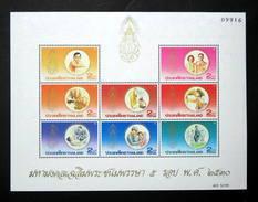 Thailand Stamp SS 1987 HM King 60th Birthday 2nd Series (OG MNH) - Thailand