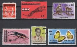 1977. République Du Zaïre. COB N° 906/11 **, MNH - 1971-79: Ungebraucht