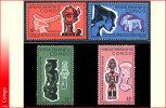 Congo 0613/16** Arts Negres   MNH - Democratische Republiek Congo (1964-71)
