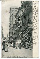 CPA - Carte Postale - Belgique - Blankenberghe - La Rue De L'Eglise - 1903 (B9091) - Blankenberge