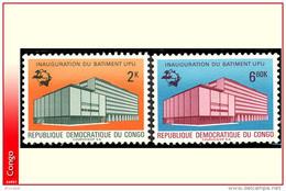 Congo 0720/21** U P U  MNH - République Démocratique Du Congo (1964-71)