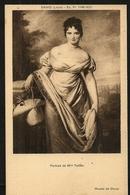 Musée De Douai   Portrait De Mme Tallien.   DAVID (J . Louis)  -  Ec . Fr . 1748 - 1825 - Schilderijen