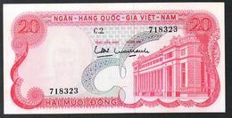 South Vietnam 20 Dong 1969  AUNC - Vietnam