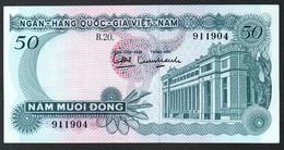 South Vietnam 50 Dong 1969  AUNC/UNC - Vietnam