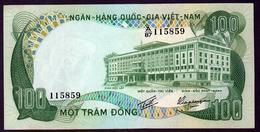 South Vietnam 100 Dong 1972  AUNC/UNC - Vietnam