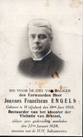 FR ENGELS WOLFSDONK BRUSSEL LANGDORP GIJMEL MECHELEN GEEL ANDERLECHT VEEWEIDE ANDERLECHT SCHAARBEEK THIELEN - Religión & Esoterismo