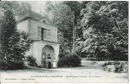 SAINT-CHRISTOPHE-EN-BRIONNAIS 71 SAÔNE-ET-LOIRE ETABLISSEMENT THERMAL 1 LA SOURCE  SÉRIE ÉMERAUDE - Autres Communes