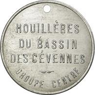 Monnaie, France, Houillères Du Bassin Des Cévennes, Bon Pour 1 Sac De Bois - Monétaires / De Nécessité