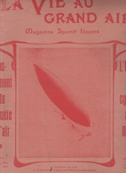 LA VIE AU GRAND AIR 21 07 1901 DIRIGEABLE SANTOS DUMONT - INFANTERIE CYCLISTE - MARATHON PARIS CONFLANS - TENNIS PUTEAUX - 1900 - 1949