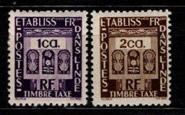 INDE - 1948 - YT N° Taxe 19 / 20 - * - - India (1892-1954)