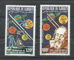 DJIBOUTI  YVERT  AEREO  213/14   MNH  ** - Yibuti (1977-...)