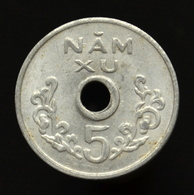 Vietnam, South 5 Xu 1975, Asia Coin. Kma10 - Viêt-Nam