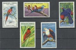 SENEGAL YVERT AEREO 31/35    MNH  ** - Senegal (1960-...)