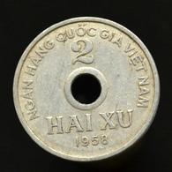 Vietnam, North 2 Xu 1958, Asia Coin. Km6 - Viêt-Nam