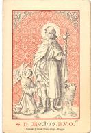 Devotie - Devotion - Prentje - Litanie Van St. Rochus - St Walburga Kerk Brugge - 1908 - Images Religieuses