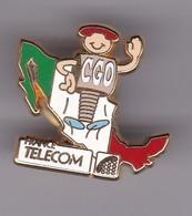 Pin's FRANCE TELECOM ITALIE SIGNE ARTHUS BERTRAND - France Telecom