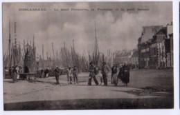 (29) 1417, Concarneau, GID, Le Quai Penanros, La Fontaine Et Le Petit Bassin - Concarneau