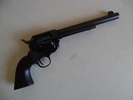REVOLVER TYPE COLT A BLANC - Decorative Weapons