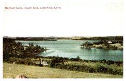 Connecticut  Litchfield , Bantam Lake . South End - Autres