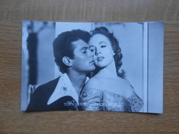 Filmsterren  Toni Curtis  &  Piper Laurie - Artisti
