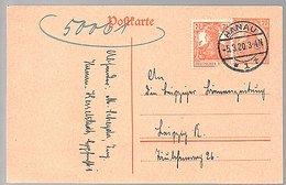 Hanau 5.3.1920 > Leipzig (stamp Has Faults) (740) - Germania