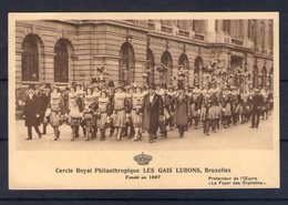 Belgique. Bruxelles. Cercle Royale Philantropique Les Gais Lurons - Autres