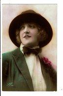 CPA - Carte Postale -Royaume Uni- Dame Avec Chapeau Et Nœud Papillon-VM3939 - Women