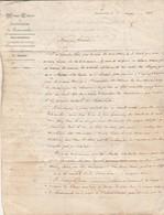1846 / Maison Centrale Correction /Travail Chanvre Par Détenus / CAD Fontevrault 49 + Paris Rouge /Cheuvière à Melun 77 - France