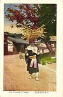 Taiwan Formosa, TAKAO, Native Woman Head Transport (1920s) Postcard - Formosa