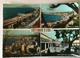 CASTELLAMMARE DI STABIA - VEDUTE    VIAGGIATA FG - Castellammare Di Stabia