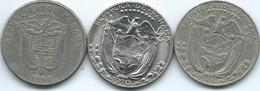 Panama - ¼ Balboa - 1966 & 1970 (KM11.2a) 1996 (KM128) - Panama