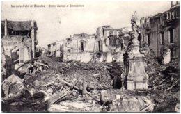 La Catastrofe Di MESSINA - Corso Cavour E Immacolata - Messina