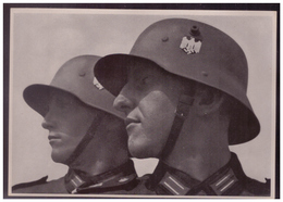 DT- Reich (008255) Propaganda Sammelbild Adolf Hitler Bild 136, Deutschlands Gegenwart - Briefe U. Dokumente