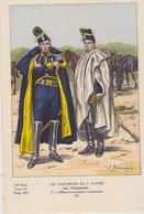 Uniformes Du 1er Empire Officier Et Cuirassier En Manteaux ( Tirage 400 Ex ) - Uniformen