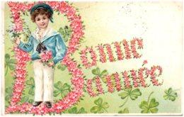 Bonne Année - Carte Gaufrée - New Year