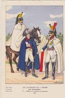 Uniformes Du 1er Empire Officier Et Cuirassiers En Manteaux 1811 ( Tirage 400 Ex ) - Uniformen