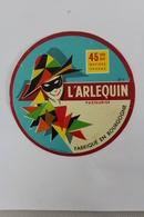 Etiquette - L'Arlequin - Fabriqué En Bourgogne - Mic - Fromage