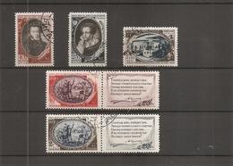 Russie ( 1341/1345 Oblitérés) - 1923-1991 UdSSR