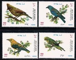 Iran 1996  Yv 2430/33** Birds, Oiseaux, Vogels  MNH - Iran