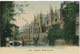 CPA - Belgique - Brugge - Bruges - Maison Du Franc - Brugge